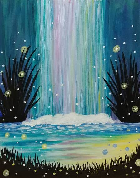A Enchanted Waterfall experience project by Yaymaker