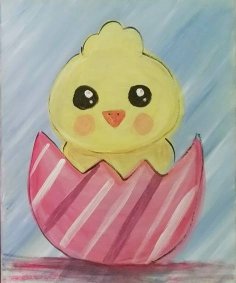 A Stripe Easter Chick experience project by Yaymaker
