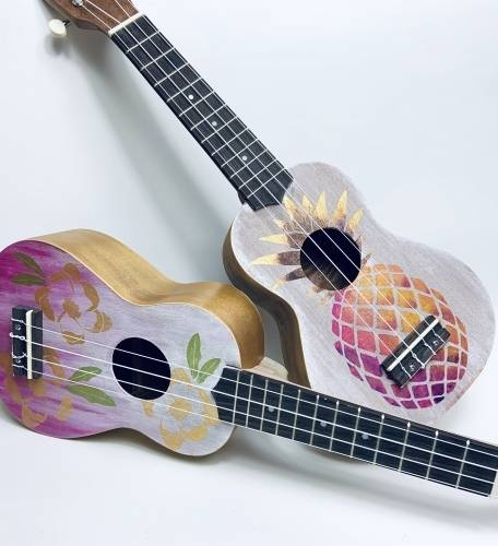 A Create your Own Design  Ukulele v1 experience project by Yaymaker