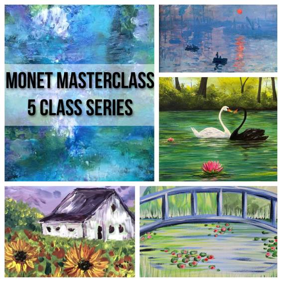 A Monet Masterclass 5 Class Adult Camp experience project by Yaymaker