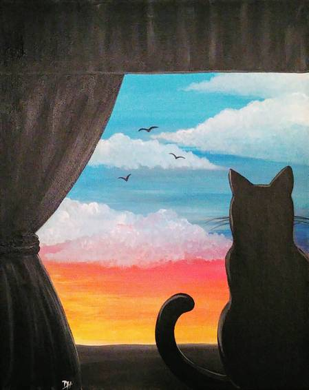 A Kitty in the Window experience project by Yaymaker