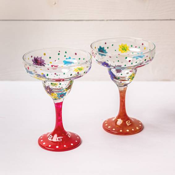 A Margarita Glasses Duo experience project by Yaymaker