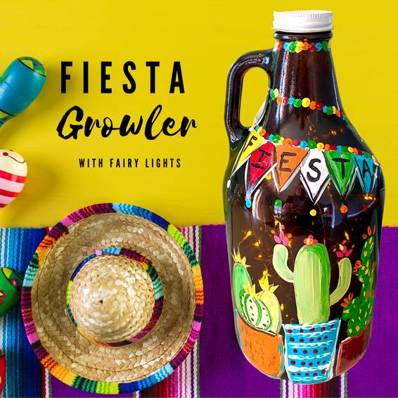 A Fiesta Growler with Fairy Lights experience project by Yaymaker