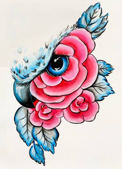 A Floral Owl Eye experience project by Yaymaker