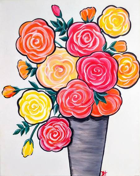 A Pop Art Roses experience project by Yaymaker