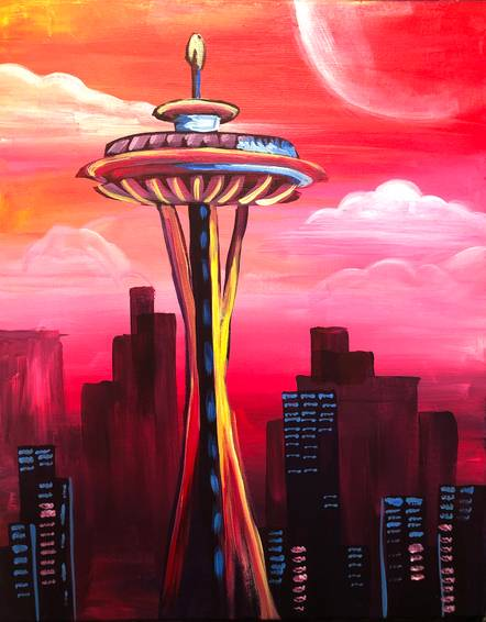 A Seattle Space Needle experience project by Yaymaker