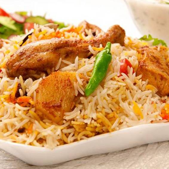 A Chicken Biryani  experience project by Yaymaker