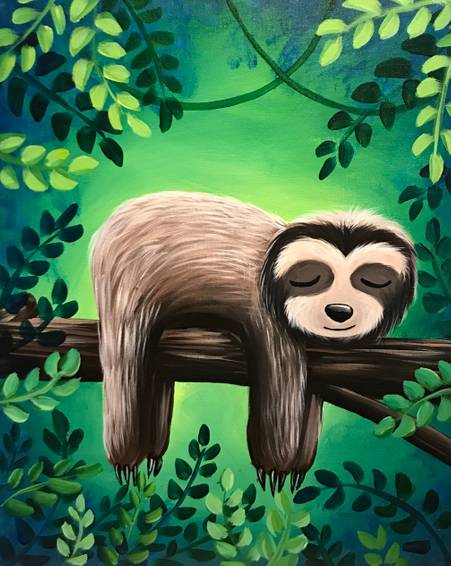 A Sleepy Sloth experience project by Yaymaker