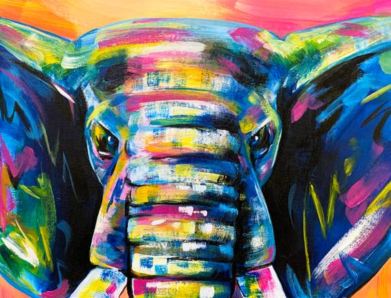 A Vibrant Elephant experience project by Yaymaker