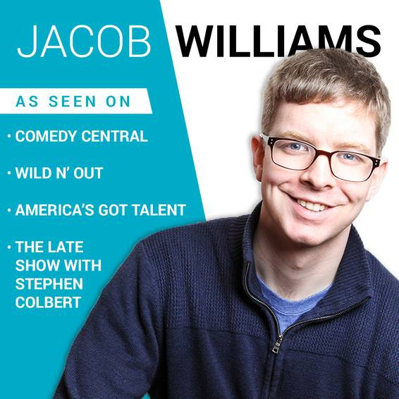 A Live Comedy Set with Jacob Williams experience project by Yaymaker