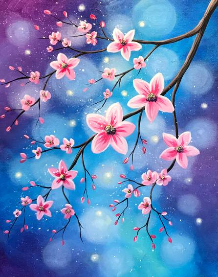 A Bright Bokeh Blossoms experience project by Yaymaker