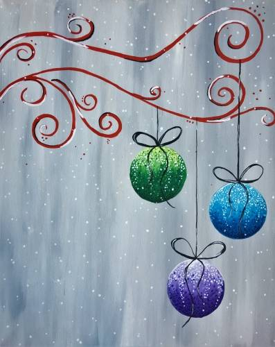 A Christmas Baubles and Bows experience project by Yaymaker