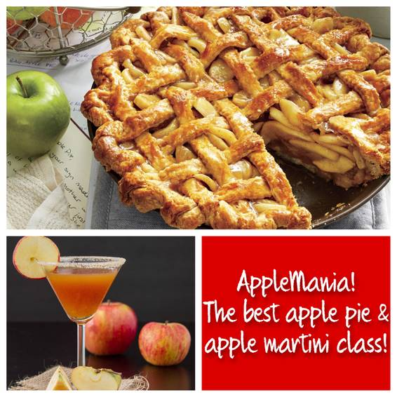 A Apple Pie Party Bake the Best Apple Pie and Sip an Apple Pie Martini experience project by Yaymaker