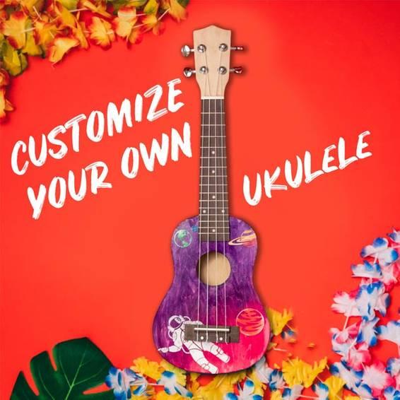 A Create a Ukulele III experience project by Yaymaker