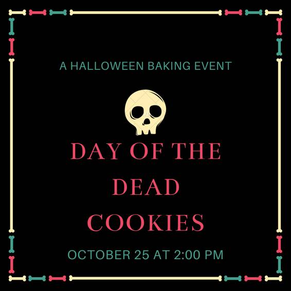 A Day of the Dead Cookies experience project by Yaymaker