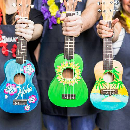 A Create a Ukulele Pick your design v1 experience project by Yaymaker