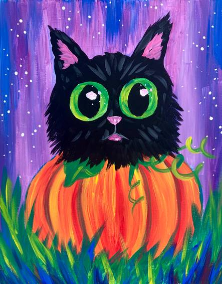 A Pumpkin Cat experience project by Yaymaker