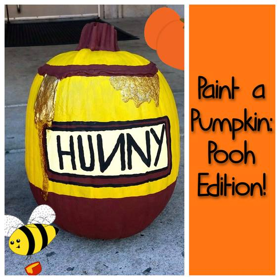 A Paint a Pumpkin  Pooh Edition experience project by Yaymaker