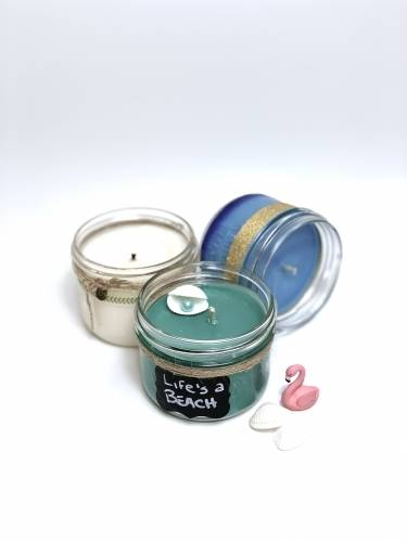 A Choose your Colors  Scents Candle Trio 2 v1 experience project by Yaymaker