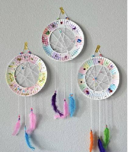 A Paper Plate Dream Catcher  Virtual Event experience project by Yaymaker