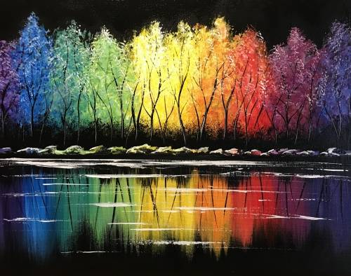 A Rainbow Forest Reflections experience project by Yaymaker