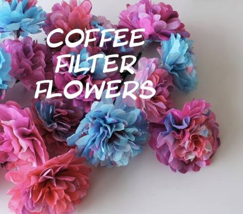 A Coffee Filter Flowers  Virtual Event experience project by Yaymaker