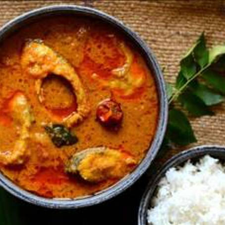 A Indian fish curry with boiled rice experience project by Yaymaker