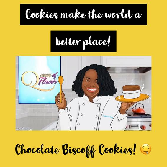 A Therapeutic Baking Chocolate Biscoff Cookies experience project by Yaymaker