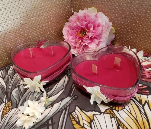 A 2 Valentine Heart Candles experience project by Yaymaker