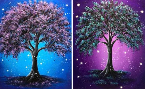 A Oak Tree Magic Partner Painting experience project by Yaymaker