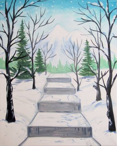 A Stairway To Winter experience project by Yaymaker