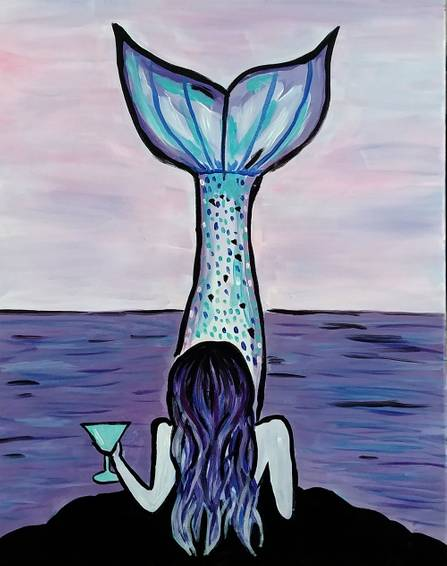 A Martini Mermaid experience project by Yaymaker
