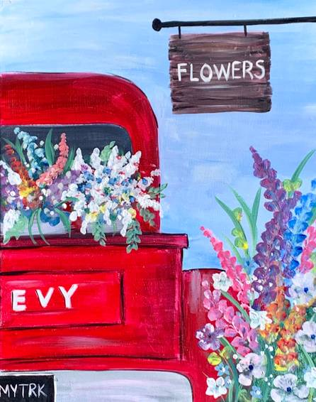 A Truck Full of Flowers experience project by Yaymaker