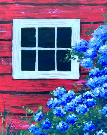 A Barn Window Blooms experience project by Yaymaker