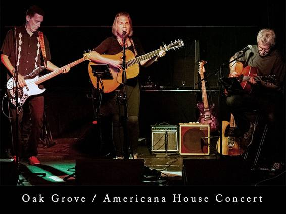 A House Concert featuring Oak Grove Americana Band experience project by Yaymaker
