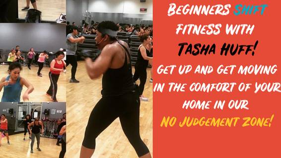 A Beginners Shift Fitness with Tasha Huff experience project by Yaymaker