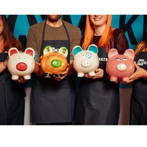 A Piggy Bank Ceramic II experience project by Yaymaker