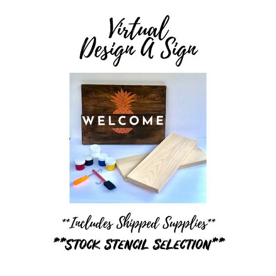 A Virtual Design A Sign Kit experience project by Yaymaker