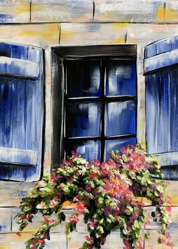 A Blue Window Blossoms experience project by Yaymaker