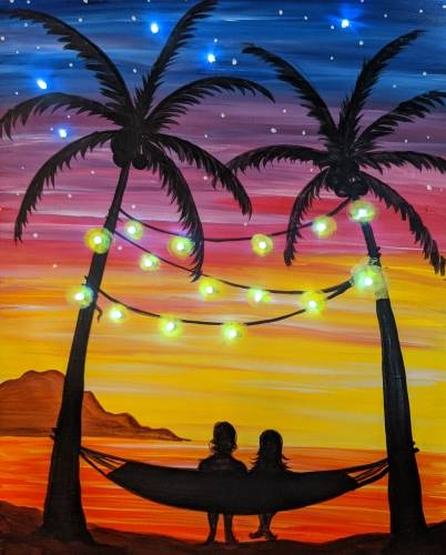 A Tropical Vacation  LED Lights Painting experience project by Yaymaker