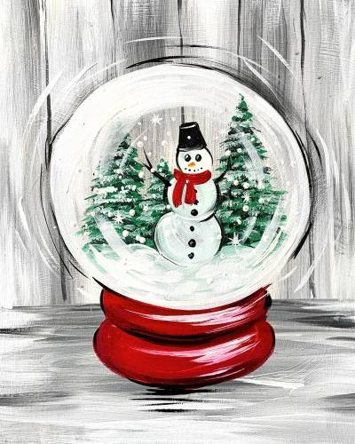 A Snowman Snow Globe experience project by Yaymaker