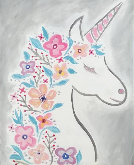 A Floral Unicorn experience project by Yaymaker