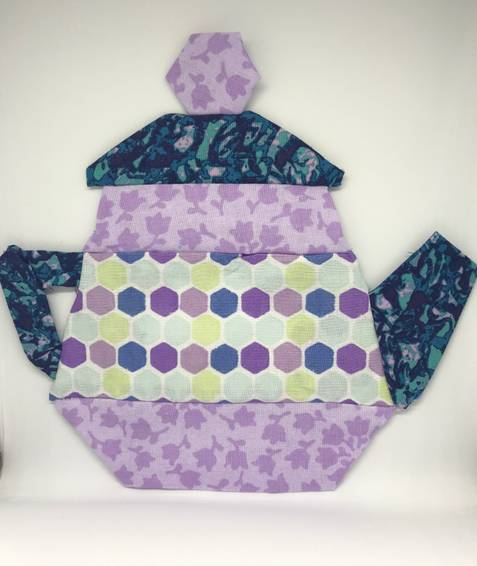 A Hand Sewn Quilted Tea Pot experience project by Yaymaker