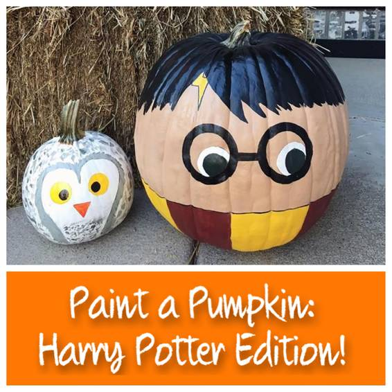 A Paint a Pumpkin  Harry Potter Edition experience project by Yaymaker