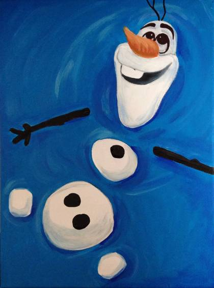 A Do You Wanna Paint A Snowman experience project by Yaymaker