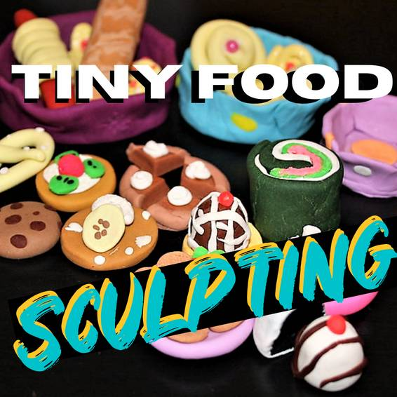 A Tiny Food Sculpting experience project by Yaymaker