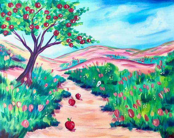 A Path to Abundance Apple Tree experience project by Yaymaker