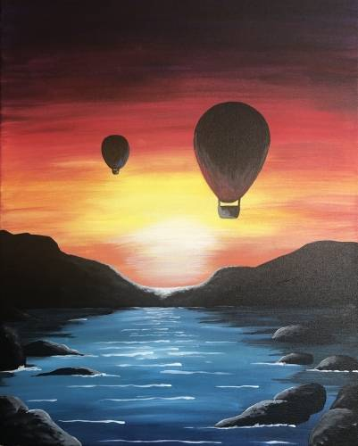 A Hot Air Balloon Sunset experience project by Yaymaker
