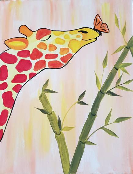 A Butterfly Kissed Giraffe I experience project by Yaymaker
