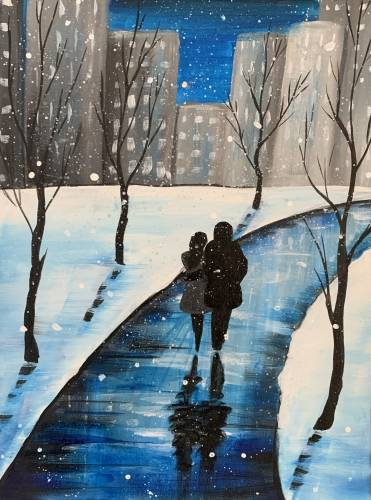 A Snowy Winter Stroll experience project by Yaymaker